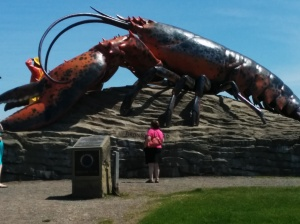 A giant mutant bug. Probably radioactive, but I had no way of checking.